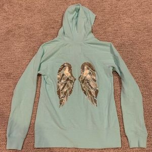 Mint Green Victoria's Secret Sweatshirt